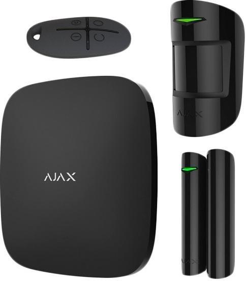 Комплект сигналізації Ajax StarterKit Plus Black (000012254)