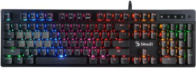 Клавіатура A4tech B500N Bloody Grey