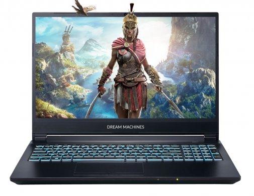 Ноутбук Dream Machines G1650TI-15UA51 Black