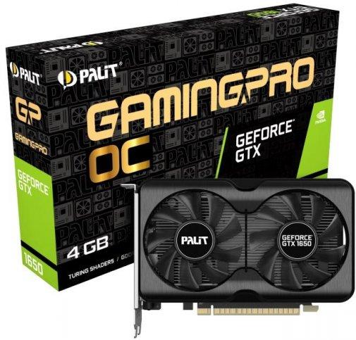Відеокарта Palit GTX 1650 GP OC (NE61650S1BG1-1175A)