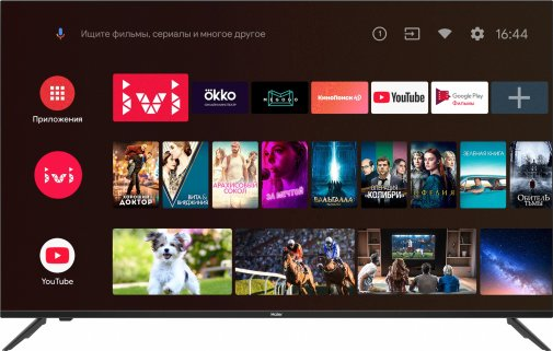 Телевізор DLED Haier DH1SX3D00RU (Android TV, Wi-Fi, 3840x2160)