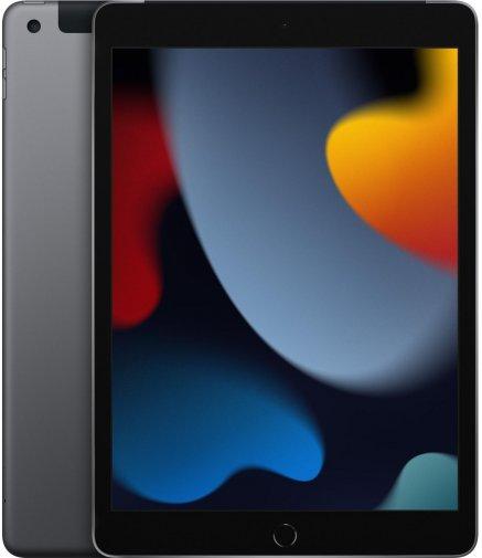 Планшет Apple iPad A2604 2021 Wi-Fi Cellular 64GB Space Grey (MK473)