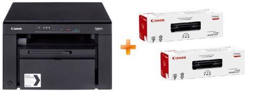 Багатофункціональний пристрій Canon i-SENSYS MF3010 EUR + 2 Картриджа 725