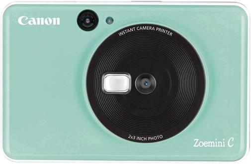 Портативна камера-принтер Canon ZOEMINI C CV123 Mint Green (3884C007)