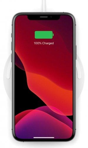 Зарядний пристрій Belkin Pad Wireless Charging Qi 10W White /C Adapter Not Included/ (WIA001BTWH)