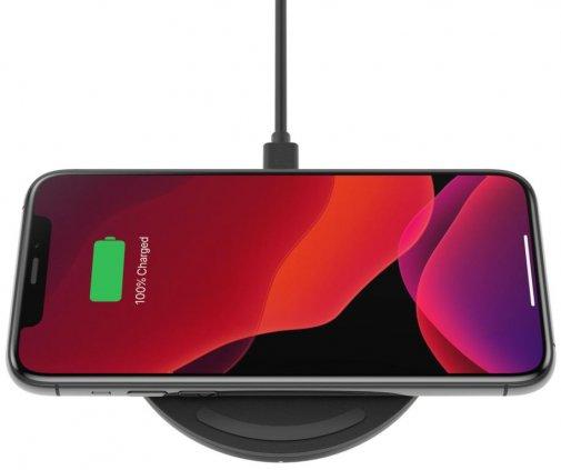 Зарядний пристрій Belkin Pad Wireless Charging Qi 15W Black (WIA002VFBK)