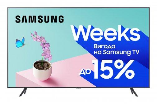 Телевізор LED Samsung UE55TU7100UXUA (Smart TV, Wi-Fi, 3840x2160)