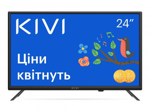 Телевізор LED Kivi 24H600KD (Smart TV, Wi-Fi, 1366x768)