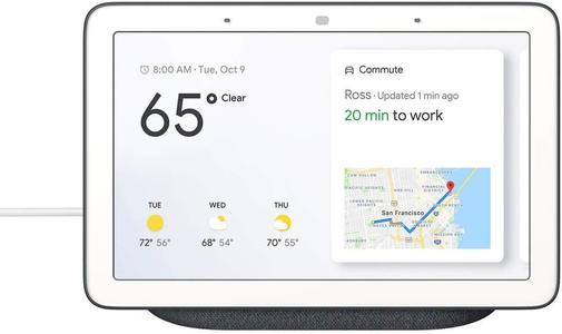 Смарт-колонка дисплей Google Home Hub Charcoal