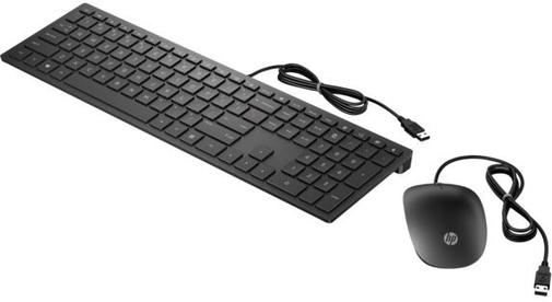 Комплект клавіатура+миша Hewlett-Packard Pavilion Keyboard and Mouse 400 USB Black (4CE97AA)