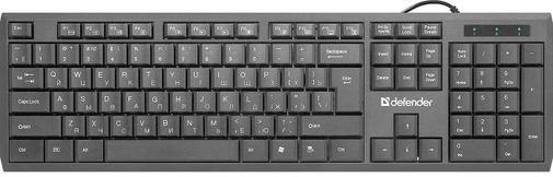 Клавіатура Defender OfficeMate SM-820 Black (45820)