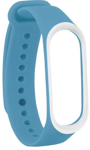 Ремінець Climber for Xiaomi Mi Band4 - OriginalStyle Silicone Double Color Blue/White (CBXM408 Blue/White)