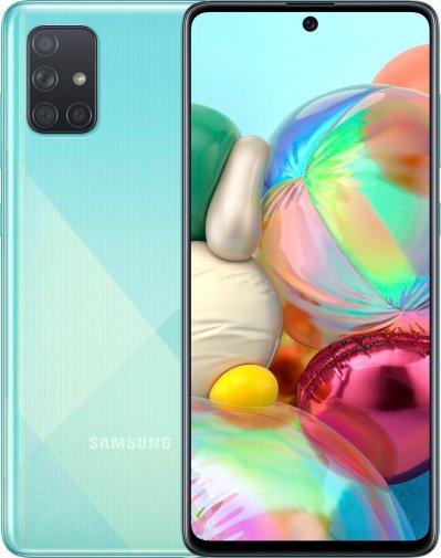 Смартфон Samsung Galaxy A71 A715 6/128GB SM-A715FZBUSEK Blue