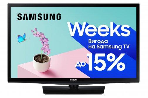 Телевізор LED Samsung UE28N4500AUXUA (Smart TV, Wi-Fi, 1366x768)