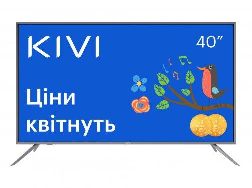 Телевізор LED Kivi 40U600GU (Android TV, Wi-Fi, 3840x2160)