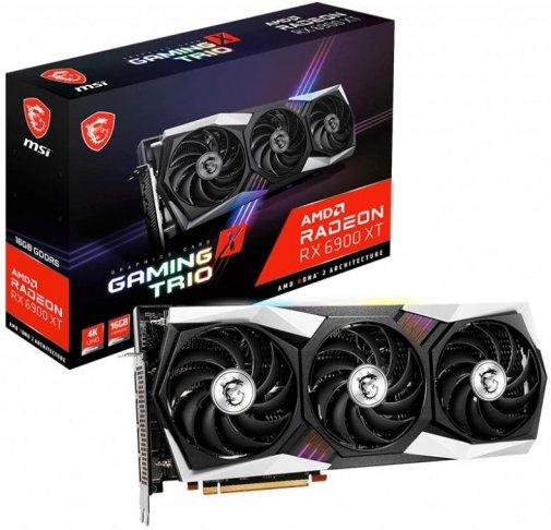 Відеокарта MSI RX 6900 XT GAMING X TRIO 16G (RX 6900 XT GAMING X TRIO 16G)