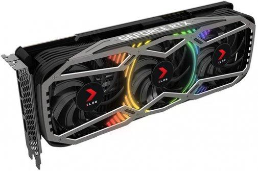 Відеокарта PNY RTX 3070 XLR8 Gaming Revel EPIC-X RGB Triple Fan Edition (VCG30708TFXPPB)
