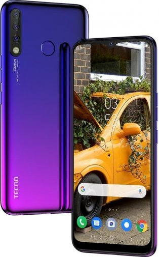 Смартфон TECNO Camon 12 CC7 4/64GB Dawn Blue (4895180750922)