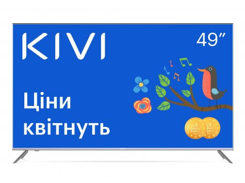Телевізор LED Kivi 49U720SU (Smart TV, Wi-Fi, 3840x2160)