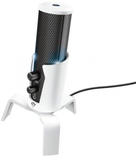 Мікрофон Trust GXT 258W Fyru 4in1 Streaming Microphone White (24257_TRUST)