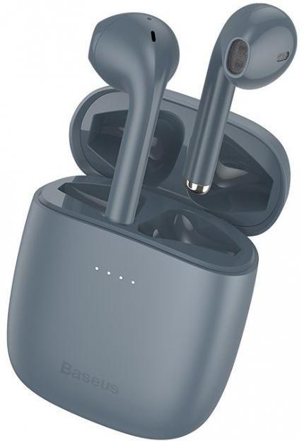 Гарнітура Baseus Encok W04 Pro Grey (NGW04P-0G)