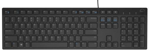 Клавіатура Dell KB216 чорна