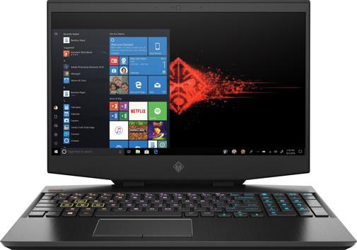 Ноутбук HP Omen 15-dh0004ur 6WN68EA Black