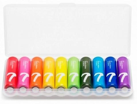 Батарейки Xiaomi ZMi Rainbow AAA batteries 10 шт (NQD4001RT)