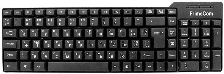 Клавіатура FRIMECOM FC-616 Black (FC-616-USB)