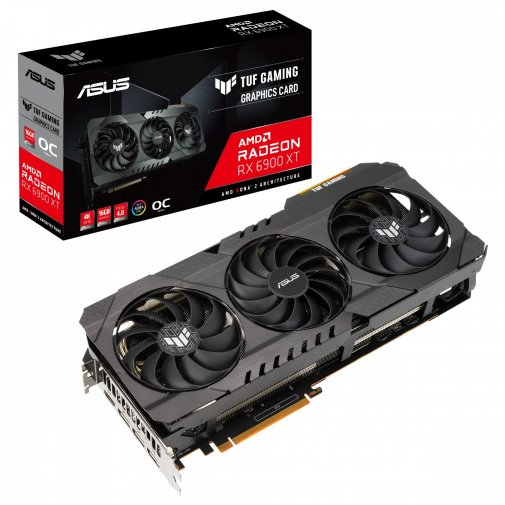 Відеокарта ASUS RX 6900 XT Tuf Gaming AMD (TUF-RX6900XT-O16G-GAMING)