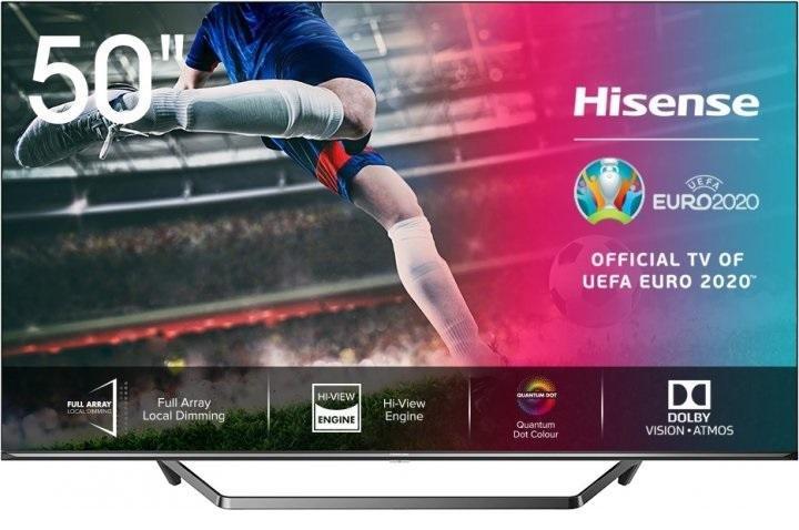 Телевізор ULED Hisense 50U7QF (Smart TV, Wi-Fi, 3840x2160)