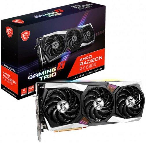 Відеокарта MSI RX 6800 GAMING X TRIO 16G (RX 6800 GAMING X TRIO 16G)