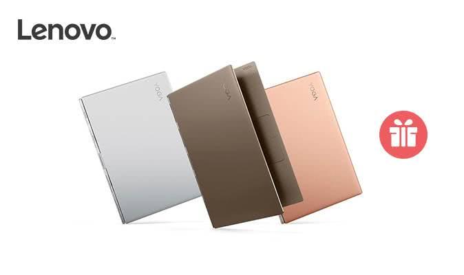 Подарунки до ноутбуків Lenovo Yoga 920!