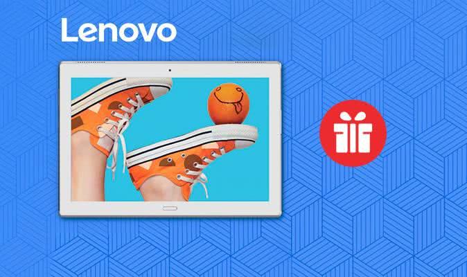 Лови подарунки до планшетів Lenovo!