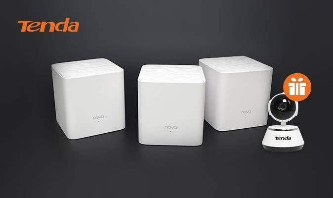 IP-камера в подарунок до роутерів Tenda
