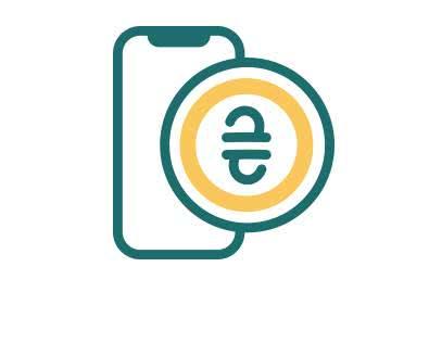 Поповнення мобільного рахунку на 1300 грн