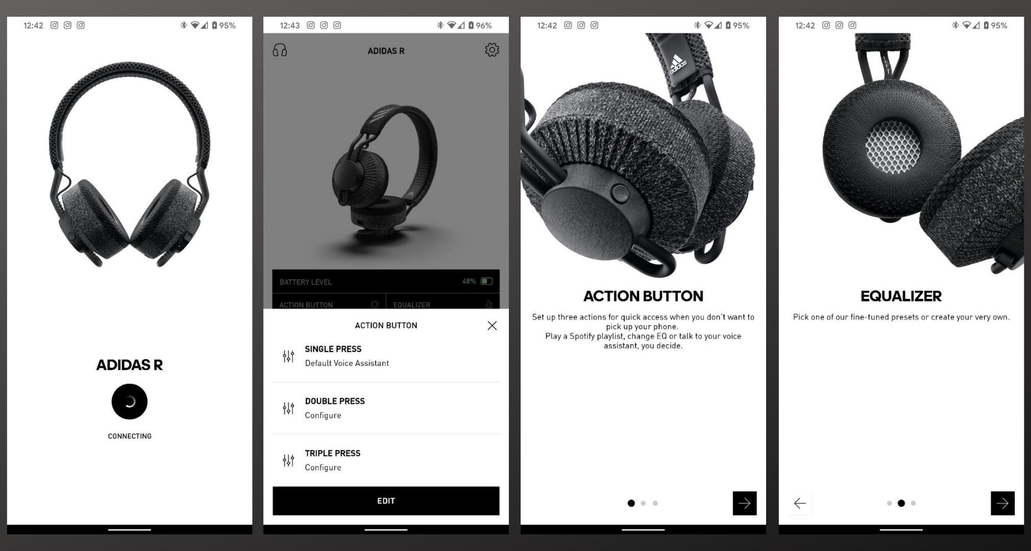 Навушники Adidas RPT-01