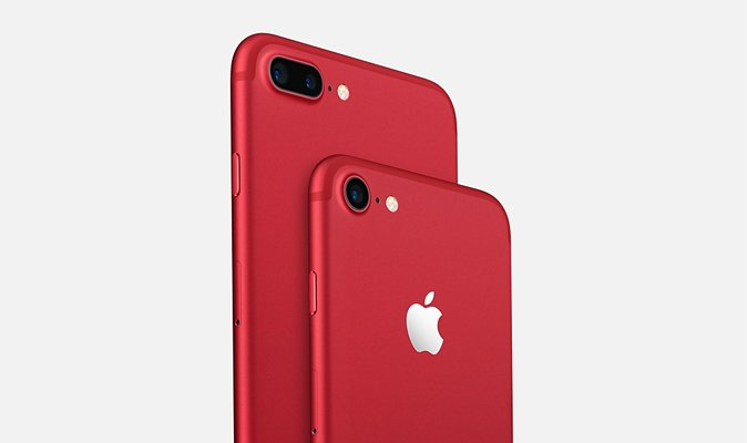 Отримуй першим Apple iPhone 7 червоного кольору!
