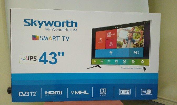 Відеоогляд smart-телевізора Skyworth 43Е200А та анонс 49Е200А
