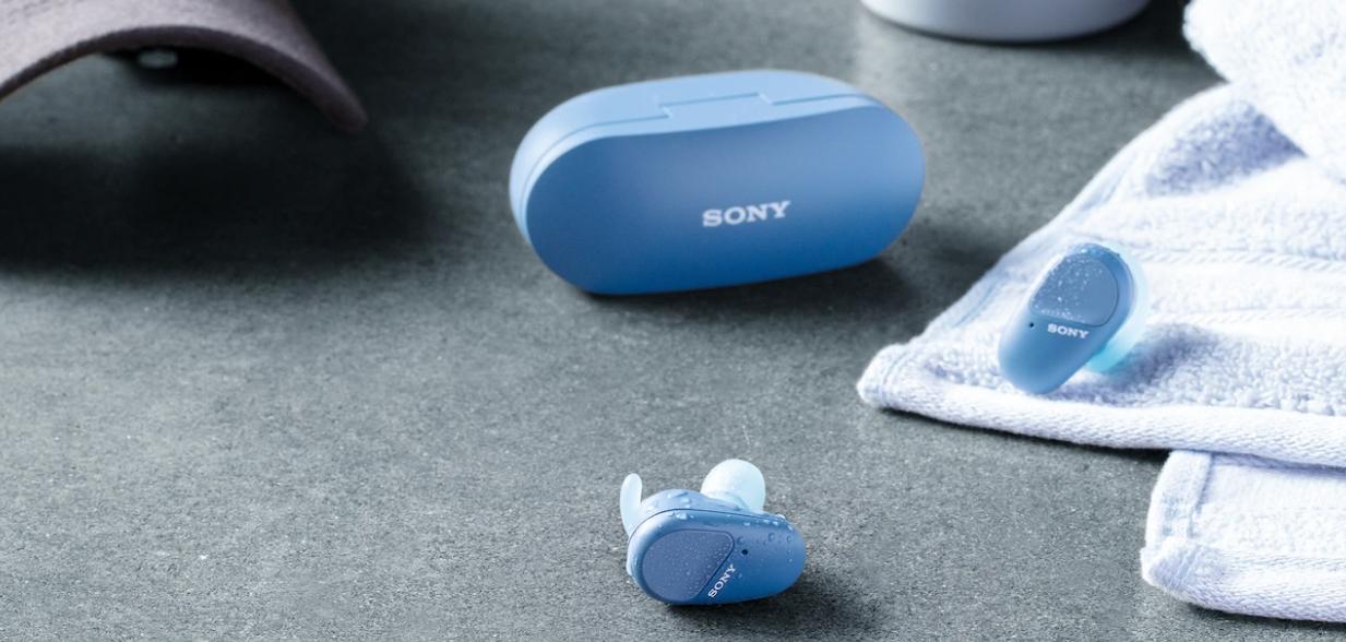 Купить Sony WF-SP800N