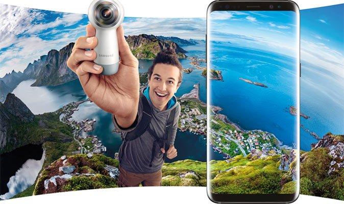 Вигравай ...Gear VR, Gear 360 або безпровідну зарядку від Samsung!