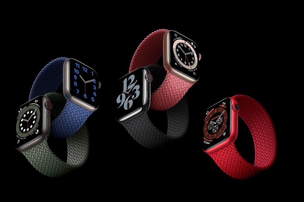 Купить Apple Watch 6