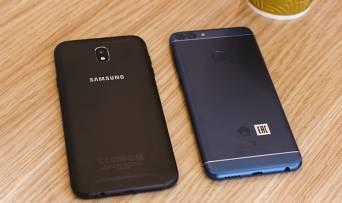 Який смартфон купувати за 8 тисяч гривень: Huawei P Smart чи Samsung Galaxy J7 (2017)