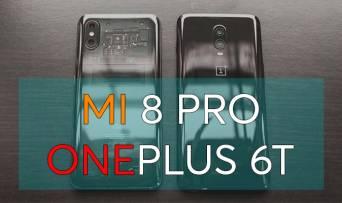 Xiaomi Mi 8 Pro VS OnePlus 6T: порівняння головних фішок