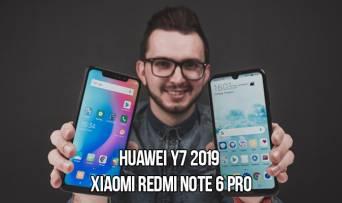 Huawei Y7 2019 VS Xiaomi Redmi Note 6 Pro: какой смартфон выбрать за $200?